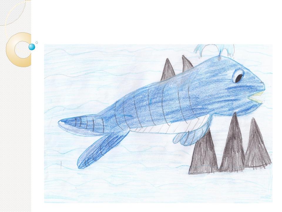 Оказалось. что полосатый кит застрял между скал