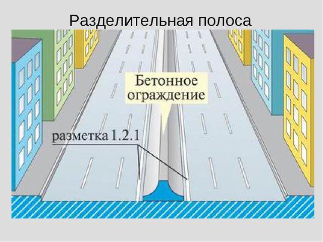 Разделительная полоса