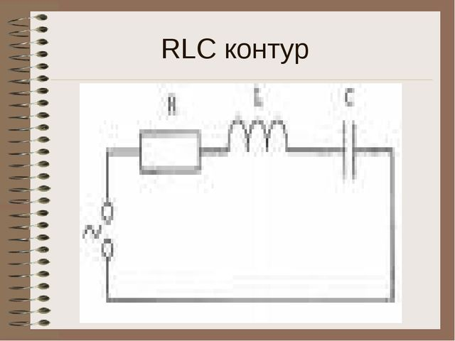 RLC контур