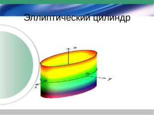 Эллиптический цилиндр