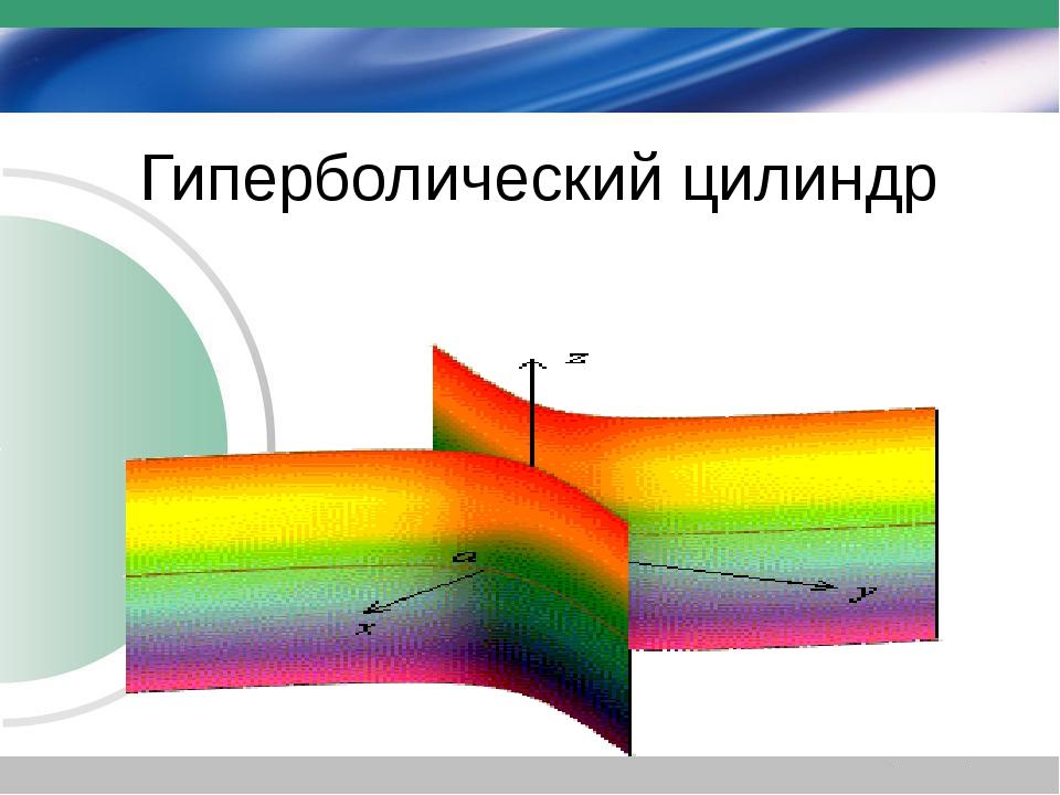 Гиперболический цилиндр