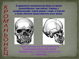 В древности человечество было не менее разнообразно, чем сейчас. Наряду с кро