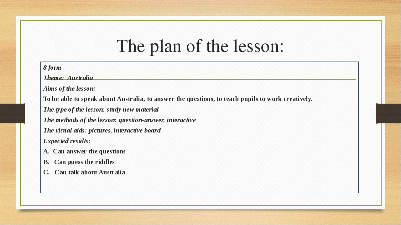 plan of lesson View lesson plans for your teachers and classes  a one year subscription to planbookcom is only us $1500, with additional discounts for multi-year purchases.