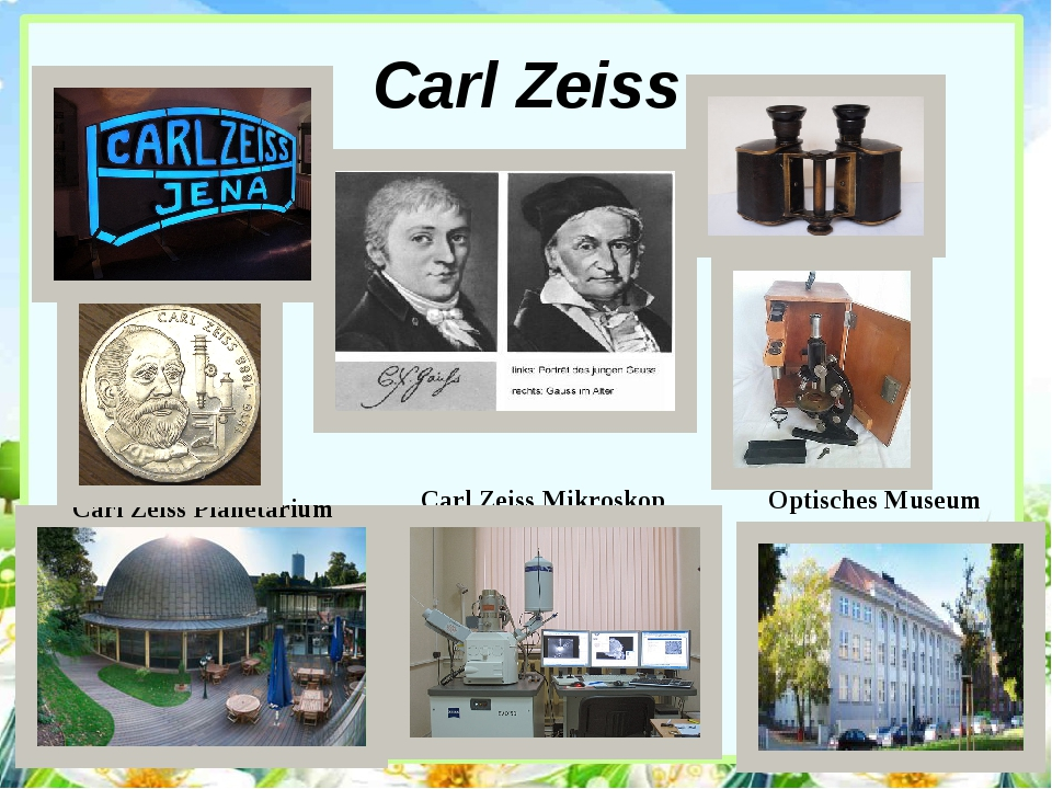 Carl Zeiss Carl Zeiss Planetarium Carl Zeiss Mikroskop Optisches Museum