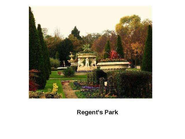 Regent's Park