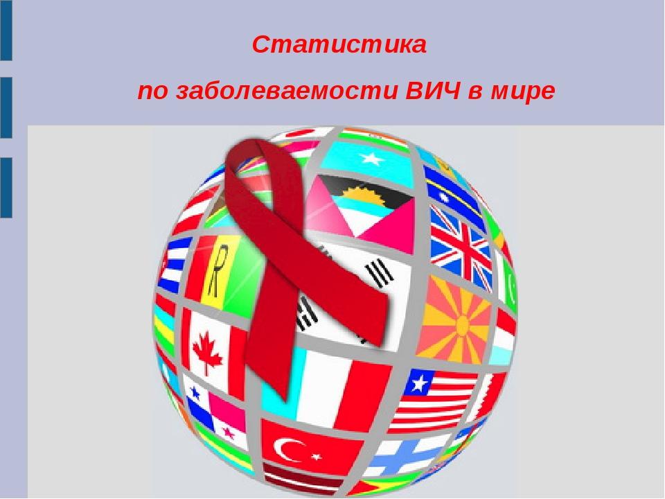 Статистика по заболеваемости ВИЧ в мире