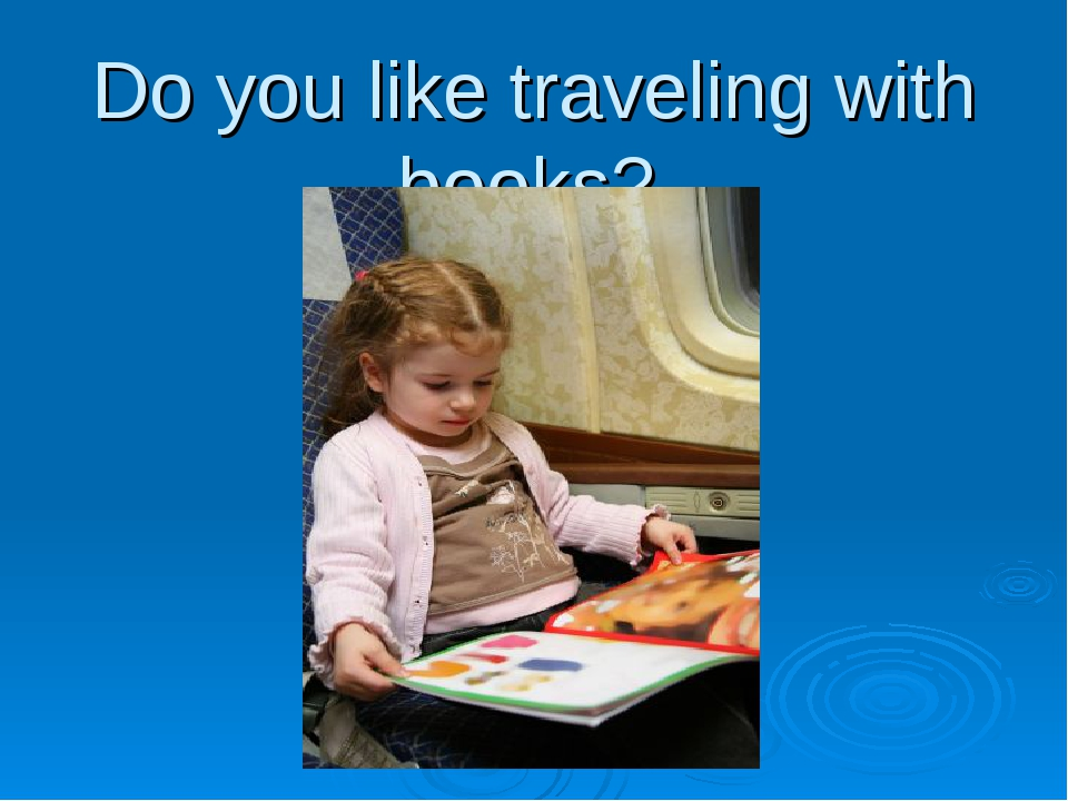 Do you like traveling with books?