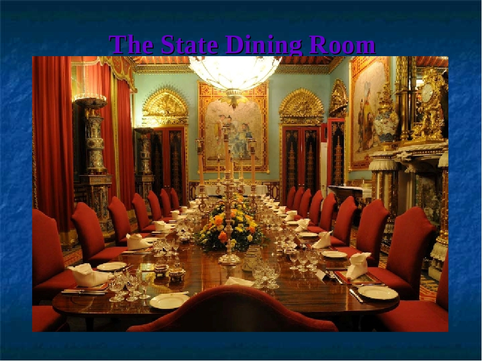 The State Dining Room