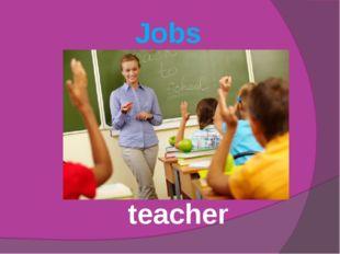 Jobs teacher