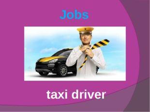 Jobs taxi driver