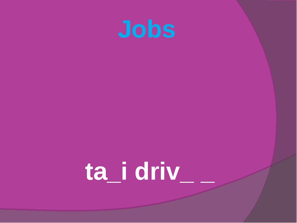 Jobs ta_i driv_ _