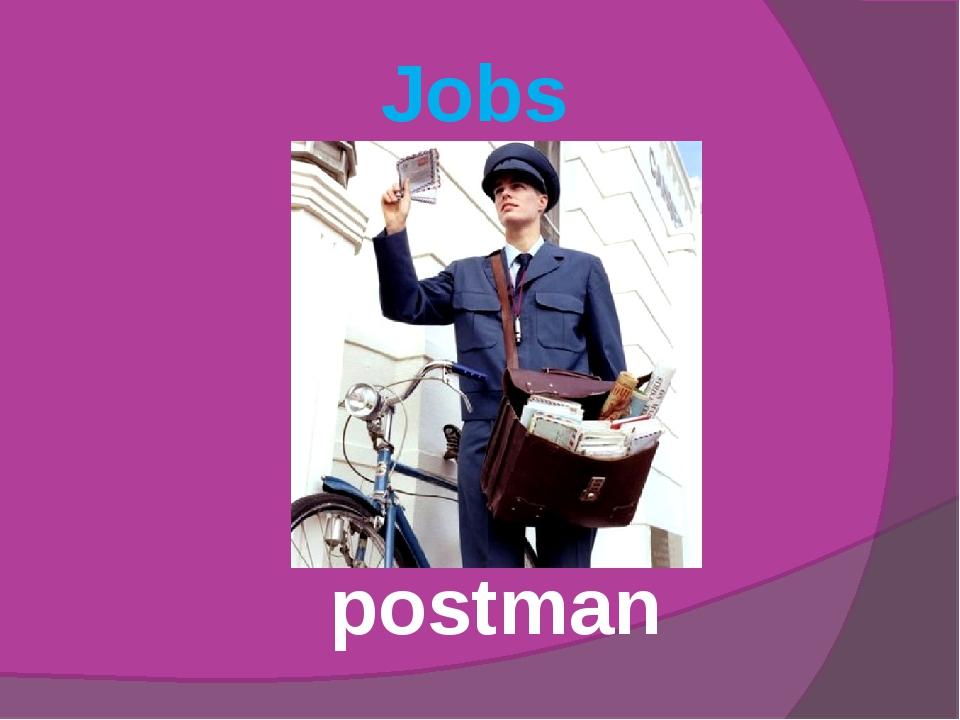 Jobs postman