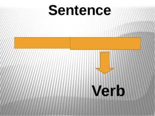 Sentence Verb