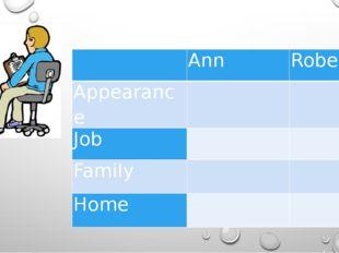 Ann Robert Appearance   Job   Family   Home