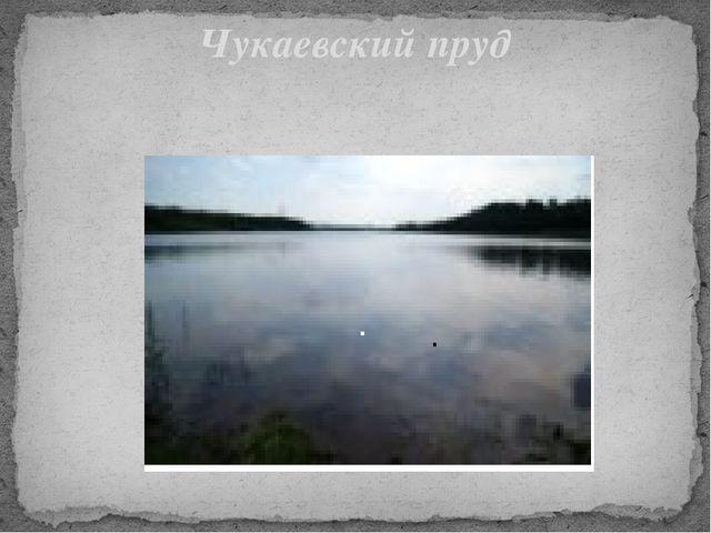 Чукаевский пруд