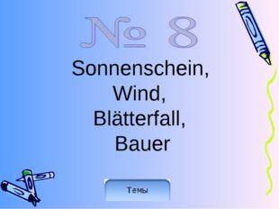 Sonnenschein, Wind, Blätterfall, Bauer