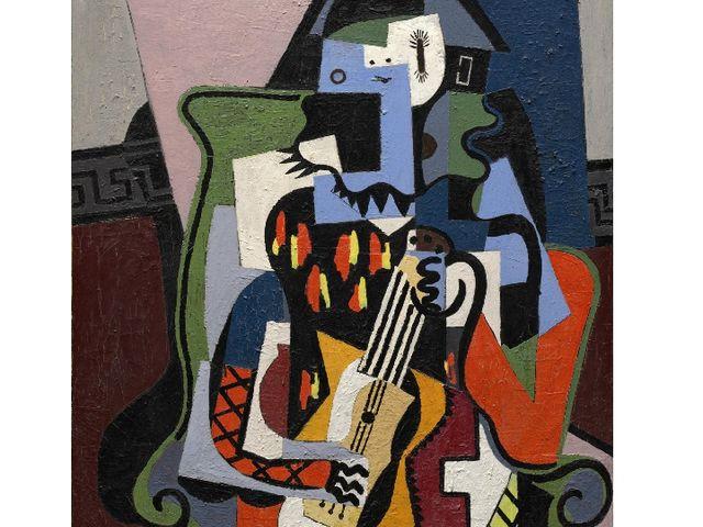 """Pablo Picasso """"Musician"""",1924"""