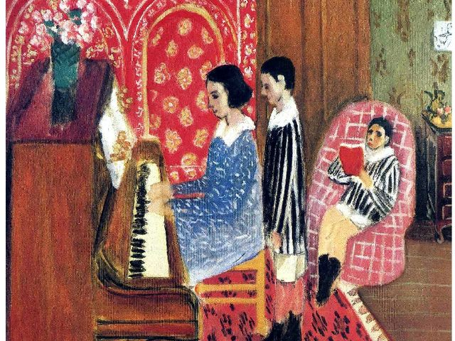 Andree Matisse «Piano lessons II»