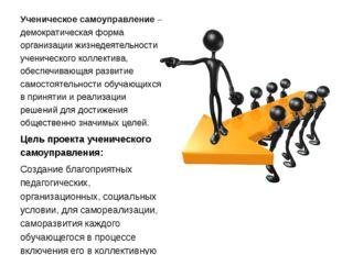 Ученическое самоуправление – демократическая форма организации жизнедеятельно