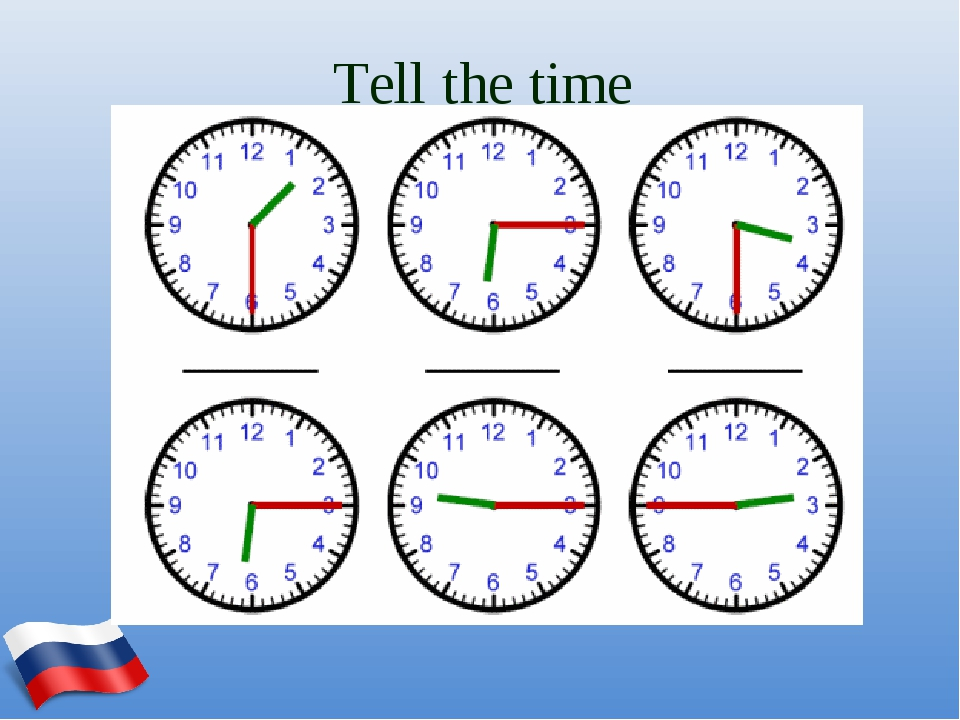 Tell the time