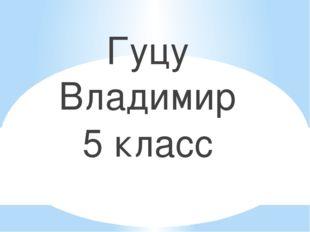 Гуцу Владимир 5 класс