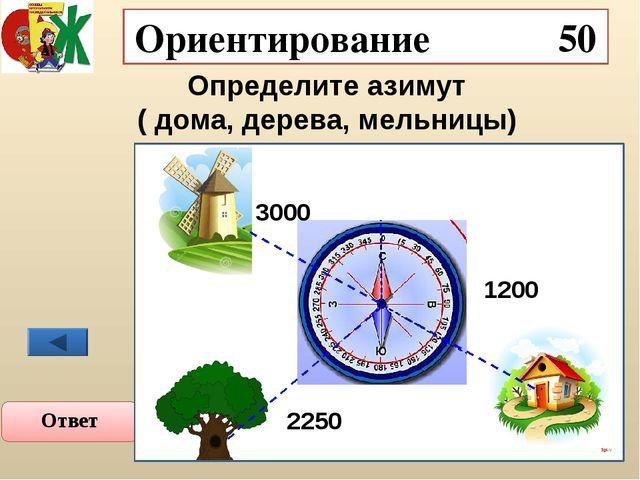 Ориентирование 40 Как определить стороны света по квартальным столбам? Ответ