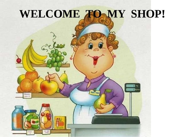 WELCOME TO MY SHOP!