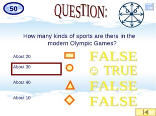 How many kinds of sports are there in the modern Olympic Games? About 20 Abou
