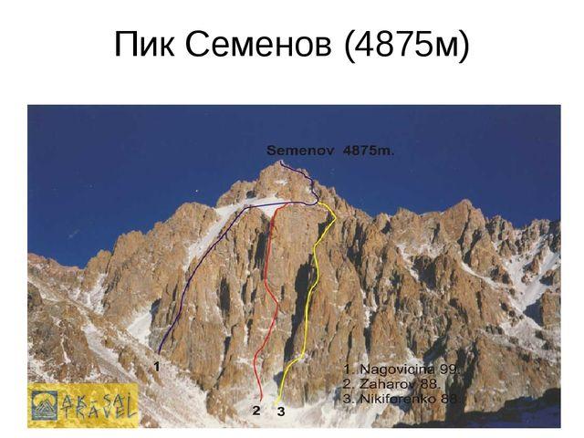 Пик Семенов (4875м)