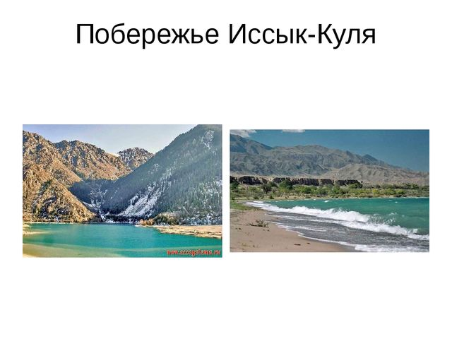 Побережье Иссык-Куля