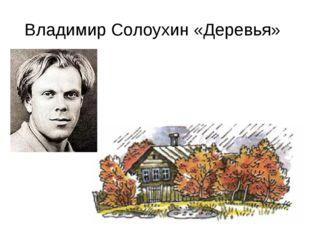 Владимир Солоухин «Деревья»
