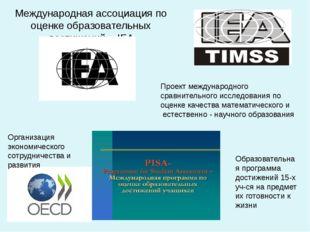 Международная ассоциация по оценке образовательных достижений IEA Проект межд