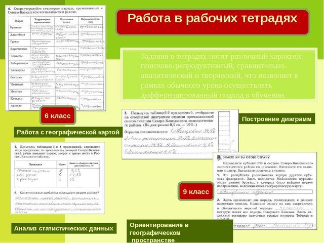 Работа с географической картой Построение диаграмм Анализ статистических данн...