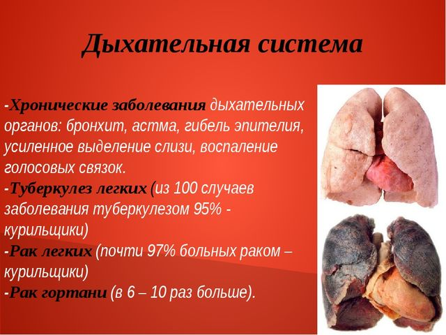 Дыхательная система -Хронические заболевания дыхательных органов: бронхит, ас...