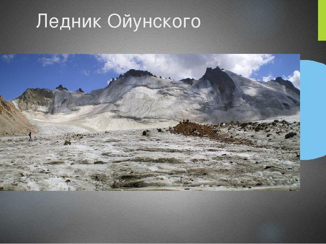 Ледник Ойунского