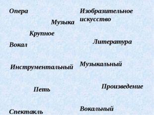 Опера Музыка Крупное Вокал Инструментальный Петь Спектакль Изобразительное ис