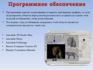 Autodesk 3D Studio Max Autodesk Maya Autodesk Softimage Maxon Computer Cinema