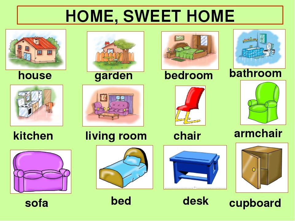 house garden bedroom bathroom kitchen chair armchair sofa bed desk cupboard...