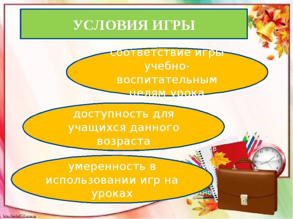Виды урока ролевые игры на уроке; игровая организация учебного процесса с ис...