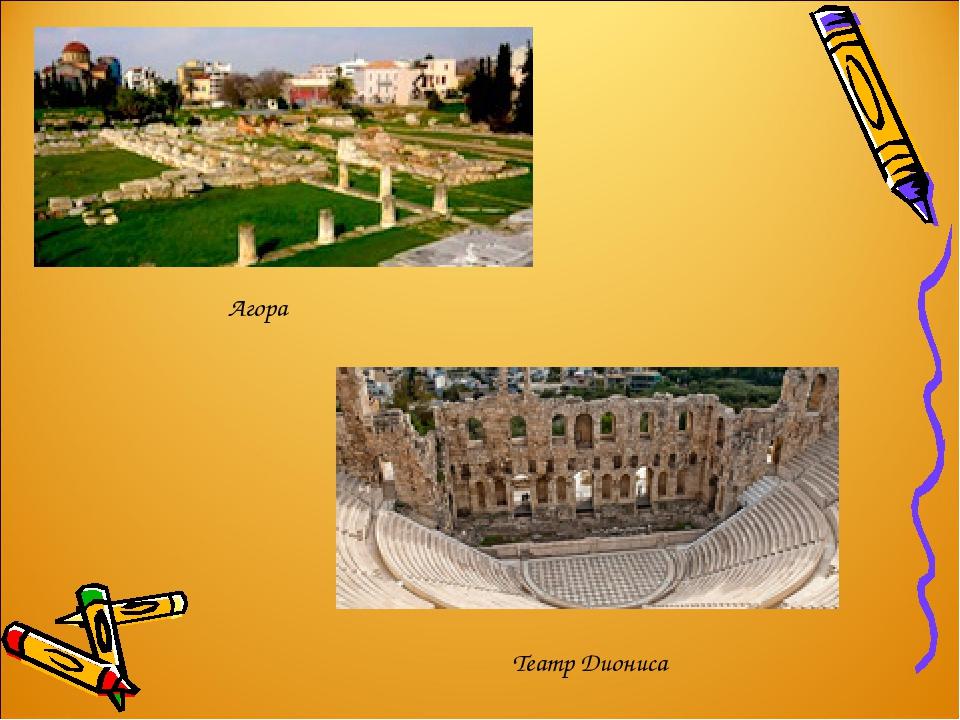 Театр Диониса Агора