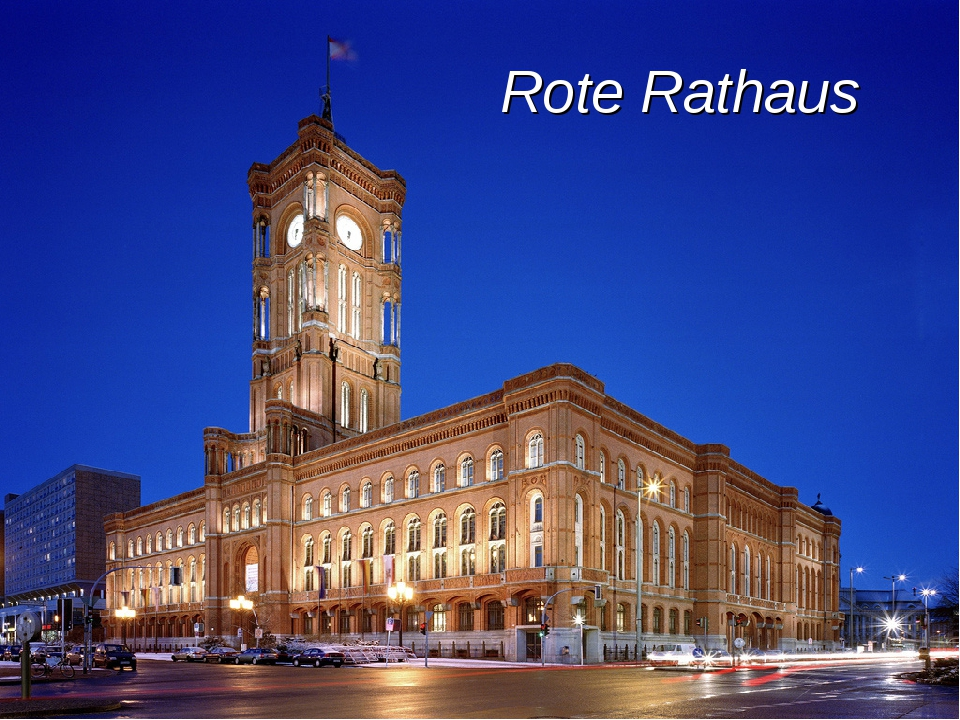 Rote Rathaus