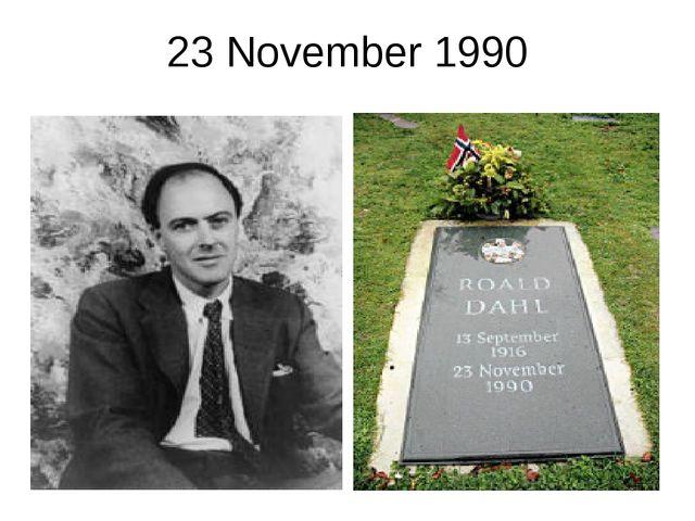 23 November 1990