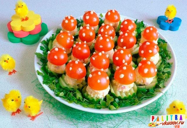 Вкусные красивые закуски детям на день рожденье фото