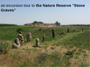 "an excursion tour to the Nature Reserve ""Stone Graves"""