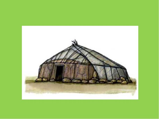 Кочевники строили переносные дома