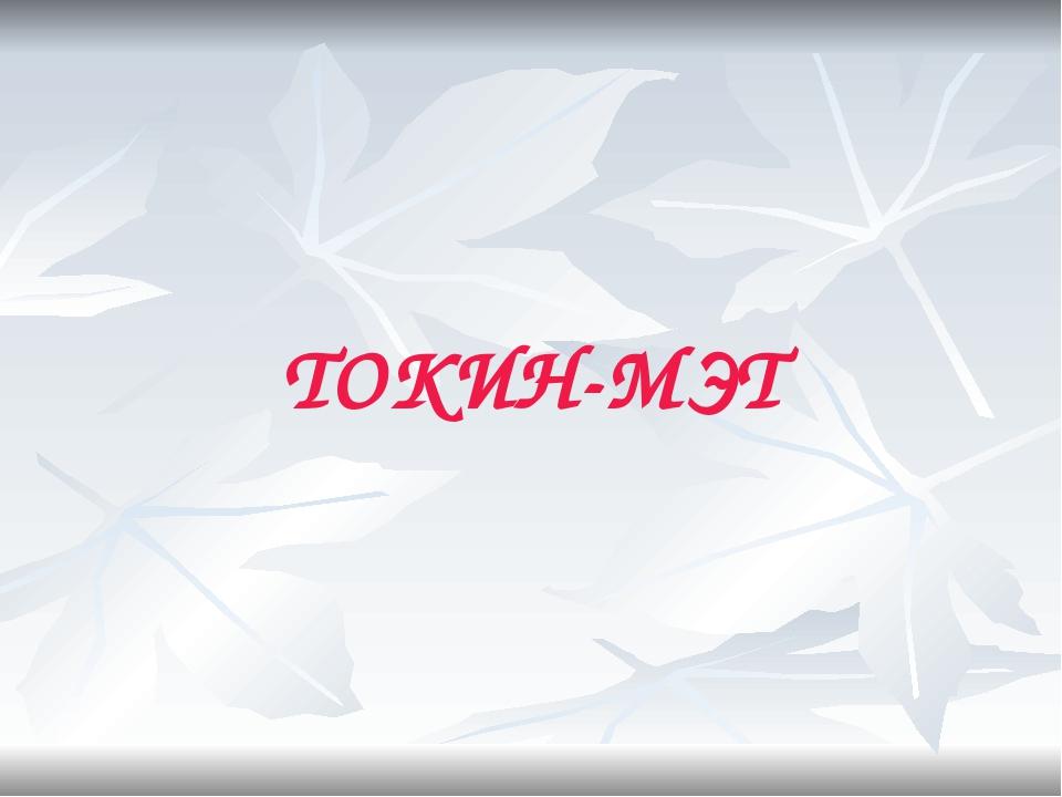 ТОКИН-МЭТ