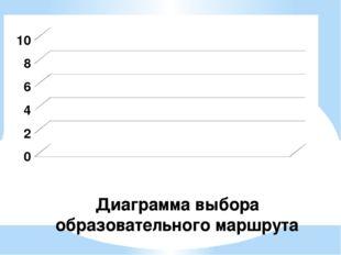 Диаграмма выбора образовательного маршрута