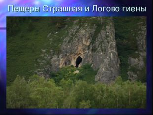 Пещеры Страшная и Логово гиены