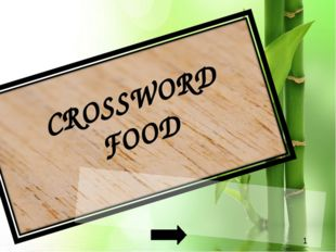 CROSSWORD FOOD