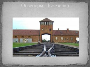 Освенцим - Бжезинка